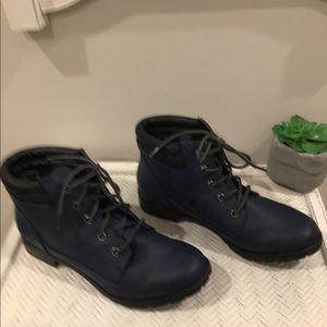 Sporto dark blue half boot